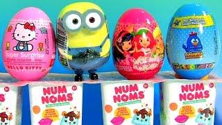 Strawberry Shortcake Toy Surprise, Num Noms, Hello Kitty, Galinha Pintadinha by Funtoys