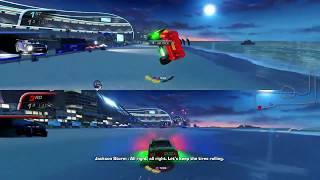 Cars 3: Driven to Win Multiplayer Gameplay - Lightning McQueen vs. Chick Hicks vs. Jackson Storm