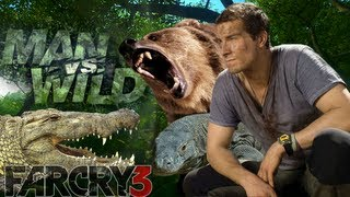 Far Cry 3 - A Prova de Tudo (Man vs Wild) Norte da Ilha com Bear Grylls