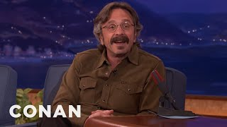 "Marc Maron Gets Naked In ""Glow""  - CONAN on TBS"