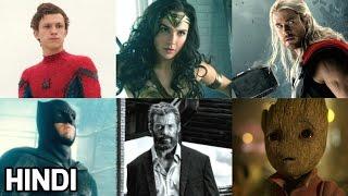 Superhero Movies of 2017 | Upcoming Marvel & DC Movies | Hindi Special