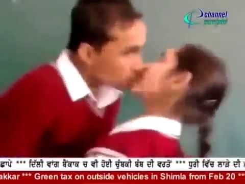 Indian students  enjoy  with Girls in  school