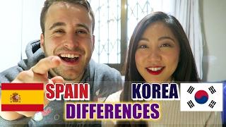 [SUB.ES]Spain & Korea Culture Shock | España & Corea Choque Cultural [한글자막]