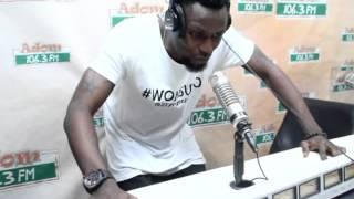 Akesesem and 2 Fingers rap on Kasahari Level