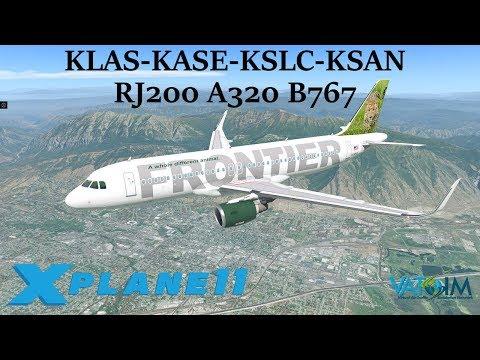 Xxx Mp4 X Plane 11 West Coast Hoppin Pt 2 KLAS KASE KSLC KSAN CRJ200 A320 B767 VATSIM 3gp Sex