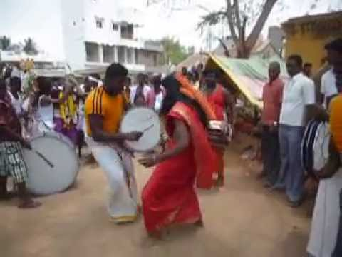 Indian traditional music in village festival