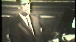 Malcolm X. Oxford Union Debate, Dec. 3 1964
