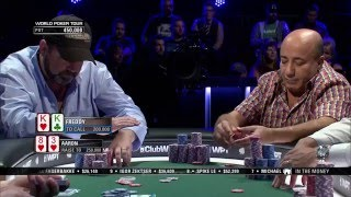 S14 WPT Legends of Poker: Kweskin Caught Bluffing