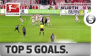 Precision Free-Kicks, Cheeky Lobs and More - Top 5 Goals on Matchday 10