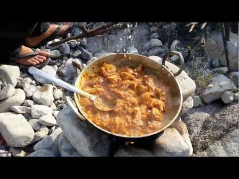 Chicken Curry (Indian Style) outdoor cooking