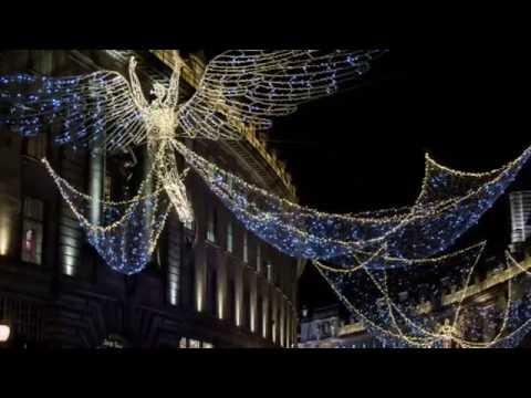 Christmas lights- Regent Street, London