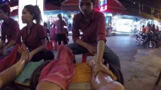 Foot massage Siem reap Cambodia นวดฝ่าเท้าเขมร