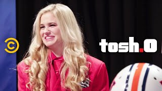 Tosh.0 - Web Redemption - Football-to-the-Face Girl
