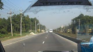 Dhaka - Mymensingh Four Lane Highway Natural Views