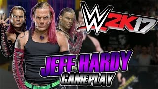 how to create jeff hardy in wwe 2k17 ps3