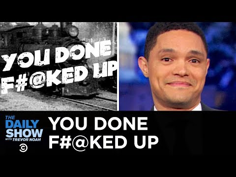 You Done F ked Up Cruise Ship Nightmare & NASA's Space Suit Screwup The Daily Show