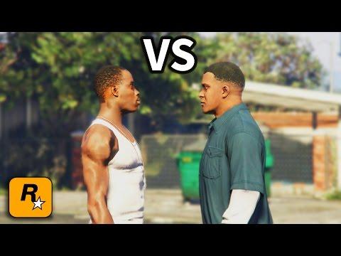 GTA IV CJ meets Franklin Part 2