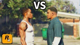 GTA IV - CJ meets Franklin Part 2
