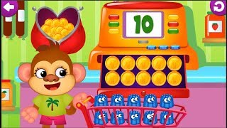 Lean Colors & Numbers With Funny Food 3 - Fun Learning Math Kids Number Games For Toddlers
