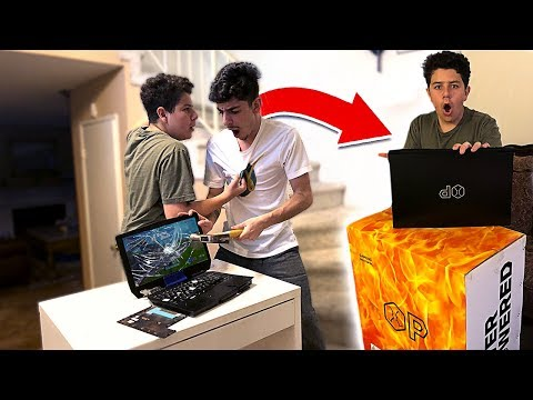 I Destroyed a Kids FORTNITE Gaming Setup & SURPRISED Him w a NEW One
