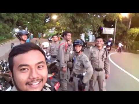 Patroli Kota Satpol PP Bukittinggi