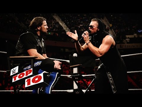 Top 10 Raw moments WWE Top 10 February 1 2016