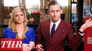 Tom Hiddleston & Ilaria Urbinati: Kong Skull Island, Steve McQueen & More   THR Fishing For Answers