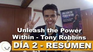 Unleash The Power Within Tony Robbins | EN ESPAÑOL DÍA 2 Resumen