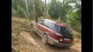 Subaru Outback 2,5AT 2002 vs. Outback 2,5 AWD 2007 vs. Mitsubishi , off road