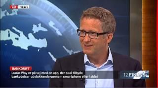 Lunar Way i TV2 News, 12 Finans, 13-08-2015