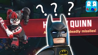 The LEGO Batman Movie Game - How To Defeat Harley Quinn ??