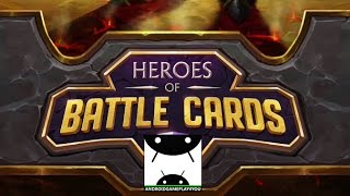 Heroes of Battle Cards Android GamePlay Trailer [60FPS] (By Plarium Global Ltd)