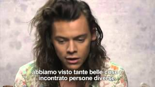 One Direction interview CORRIERE TV