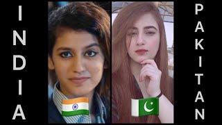 Indian Girls Vs Pakistani Girls | New Famous Instagram Girls | 2018