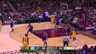 2015 NBA Finals Cleveland Cavaliers vs Golden State Warriors Game 3 Full Highlights