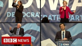 How to pitch yourself to Iowa voters in five minutes - BBC News