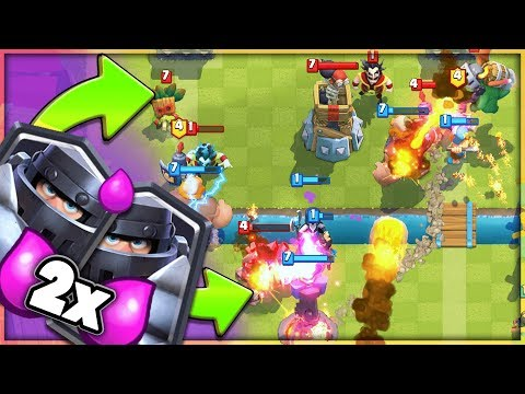 2v2 + 2X ELIXIR IS SO FUN in CLASH ROYALE!