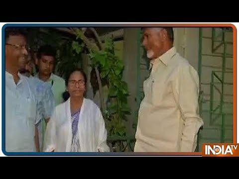 Xxx Mp4 Andhra Pradesh CM N Chandrababu Naidu Meets West Bengal CM Mamata Banerjee In Kolkata 3gp Sex