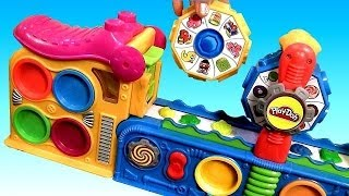 Play Doh Mega Fun Factory Machine Conveyor Toy Fábrica Loca