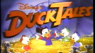DuckTales – Raiders of the Lost Harp – Intro (1987) Theme (VHS Capture)