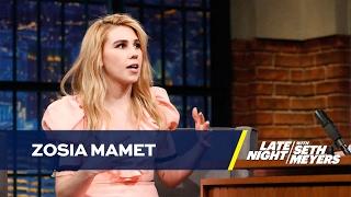 Zosia Mamet Says Ending of Girls Is Like Lemon in a Cut