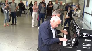 Senior Citizen Plays Piano...Then Magic Occurs