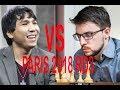 Wesley So vs Vachier-Lagrave:A Magnificent Queen Sacrifice. GCT:Paris18