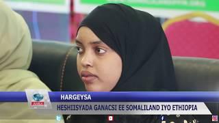 Cilmi-baadhis lagu eegayo saamaynta heshiisyada ganacsi ee Somaliland iyo Ethiopia oo lasoo bandhiga