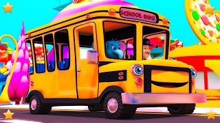 Wheels On The Bus | Kindergarten Nursery Rhymes Song for Kids | Baby Songs by Little Treehouse