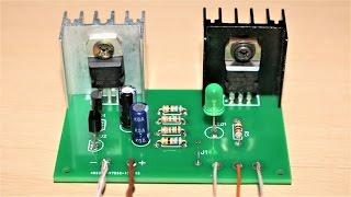 EasyEDA online PCB Fabrication + How to make a 100W Inverter (12V to 220V)