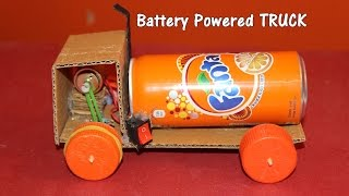How to make a Battery Powered Truck - Easy
