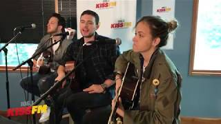 "Ocean Park Standoff performs an acoustic ""Good News"""