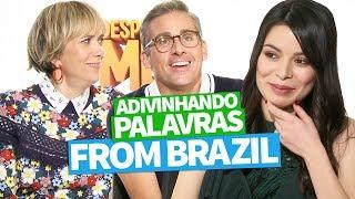 ADIVINHANDO PALAVRAS FROM BRAZIL (Miranda Cosgrove, Steve Carell e Kristen Wiig)