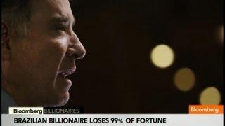 Eike Batista's Spectacular Fall From Billionaire Grace